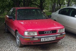 Подержанный автомобиль Audi 90, хорошее состояние, 1988 года выпуска, цена 90 000 руб., Екатеринбург