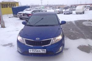 Автомобиль Kia Rio, отличное состояние, 2012 года выпуска, цена 370 000 руб., Нижневартовск