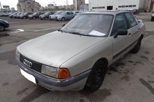 Подержанный автомобиль Audi 80, отличное состояние, 1987 года выпуска, цена 30 000 руб., Самара