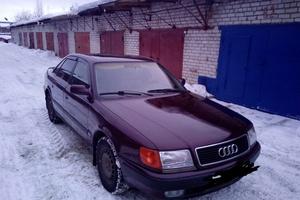 Автомобиль Audi 100, хорошее состояние, 1991 года выпуска, цена 140 000 руб., Московская область