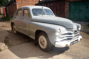 Автомобиль ГАЗ М-20 Победа, хорошее состояние, 1957 года выпуска, цена 300 000 руб., Москва