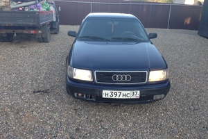 Автомобиль Audi 100, среднее состояние, 1993 года выпуска, цена 130 000 руб., Иваново