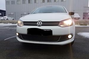 Подержанный автомобиль Volkswagen Polo, отличное состояние, 2014 года выпуска, цена 590 000 руб., Челябинск