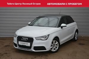 Подержанный автомобиль Audi A1, отличное состояние, 2012 года выпуска, цена 585 000 руб., Москва