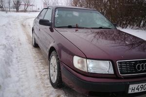 Автомобиль Audi 100, хорошее состояние, 1993 года выпуска, цена 190 000 руб., Иваново