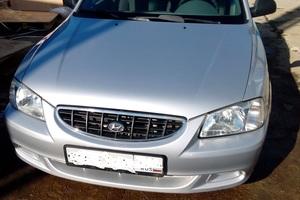 Подержанный автомобиль Hyundai Accent, хорошее состояние, 2005 года выпуска, цена 210 000 руб., Бронницы