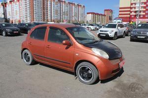 Авто Nissan March, 2002 года выпуска, цена 165 000 руб., Тюмень
