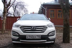 Автомобиль Hyundai Santa Fe, отличное состояние, 2013 года выпуска, цена 1 350 000 руб., Павловский Посад