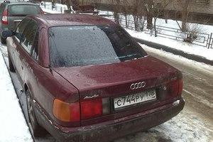 Подержанный автомобиль Audi 100, битый состояние, 1991 года выпуска, цена 60 000 руб., Санкт-Петербург