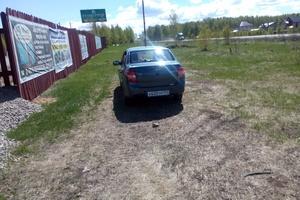 Подержанный автомобиль ВАЗ (Lada) Granta, отличное состояние, 2015 года выпуска, цена 270 000 руб., Челябинская область