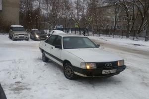 Подержанный автомобиль Audi 100, хорошее состояние, 1990 года выпуска, цена 70 000 руб., Жуковский