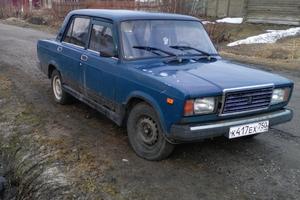 Подержанный автомобиль ВАЗ (Lada) 2107, плохое состояние, 2000 года выпуска, цена 25 000 руб., Павловский Посад