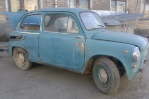 Автомобиль ЗАЗ 965, битый состояние, 1967 года выпуска, цена 16 000 руб., Краснотурьинск