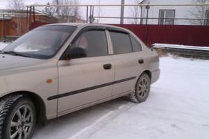 Автомобиль Hyundai Accent, хорошее состояние, 2005 года выпуска, цена 200 000 руб., Нягань