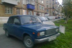 Подержанный автомобиль ВАЗ (Lada) 2107, хорошее состояние, 2000 года выпуска, цена 65 000 руб., Бакал