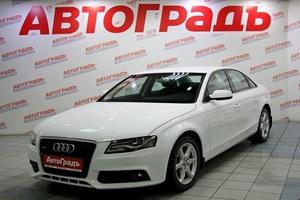 Подержанный автомобиль Audi A4, отличное состояние, 2010 года выпуска, цена 595 000 руб., Москва