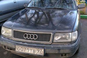 Автомобиль Audi 100, плохое состояние, 1992 года выпуска, цена 80 000 руб., Московская область