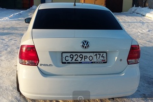 Подержанный автомобиль Volkswagen Polo, отличное состояние, 2013 года выпуска, цена 460 000 руб., Челябинск