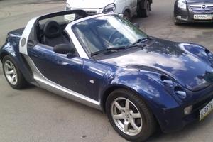 Автомобиль Smart Roadster, отличное состояние, 2003 года выпуска, цена 360 000 руб., Москва