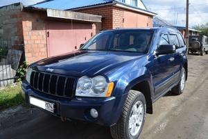 Подержанный автомобиль Jeep Grand Cherokee, хорошее состояние, 2005 года выпуска, цена 700 000 руб., Челябинск