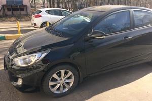 Автомобиль Hyundai Solaris, отличное состояние, 2011 года выпуска, цена 415 000 руб., пгт. Томилино