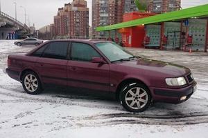 Автомобиль Audi 100, среднее состояние, 1994 года выпуска, цена 159 000 руб., Санкт-Петербург