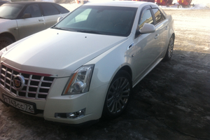 Автомобиль Cadillac CTS, отличное состояние, 2013 года выпуска, цена 1 300 000 руб., Челябинск