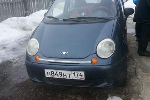 Подержанный автомобиль Daewoo Matiz, хорошее состояние, 2004 года выпуска, цена 70 000 руб., Чебаркуль