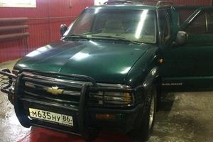 Автомобиль Chevrolet Blazer, хорошее состояние, 1997 года выпуска, цена 350 000 руб., Томская область