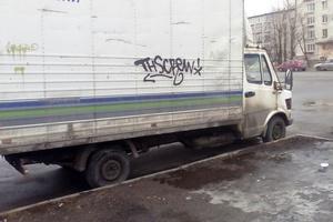 Автомобиль Mercedes-Benz T1, среднее состояние, 1986 года выпуска, цена 179 000 руб., Санкт-Петербург