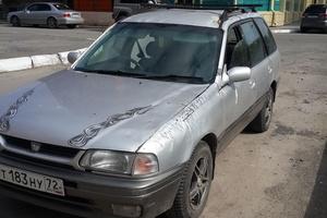 Автомобиль Nissan Wingroad, среднее состояние, 1998 года выпуска, цена 60 000 руб., Тюмень