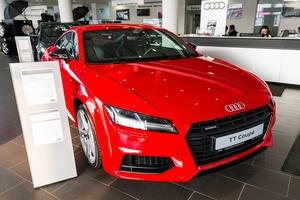 Новый автомобиль Audi TT, 2016 года выпуска, цена 2 626 000 руб., Москва