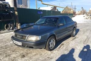 Подержанный автомобиль Audi 100, отличное состояние, 1991 года выпуска, цена 150 000 руб., Челябинск