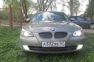 Автомобиль BMW 5 серия, отличное состояние, 2008 года выпуска, цена 750 000 руб., Смоленск