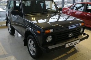 Авто ВАЗ (Lada) 4x4, 2017 года выпуска, цена 481 900 руб., Санкт-Петербург