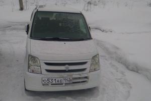 Автомобиль Suzuki Wagon R, хорошее состояние, 2007 года выпуска, цена 200 000 руб., Новокузнецк