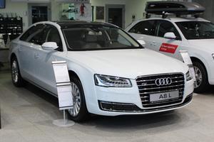 Новый автомобиль Audi A8, 2016 года выпуска, цена 5 480 000 руб., Минеральные Воды