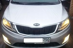 Подержанный автомобиль Kia Rio, отличное состояние, 2014 года выпуска, цена 700 000 руб., Подольск
