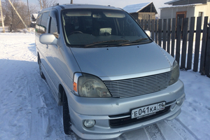 Автомобиль Toyota Hiace, отличное состояние, 2001 года выпуска, цена 530 000 руб., республика Хакасия