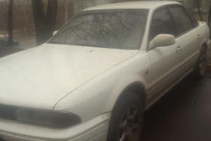 Автомобиль Mitsubishi Sigma, хорошее состояние, 1992 года выпуска, цена 110 000 руб., Москва