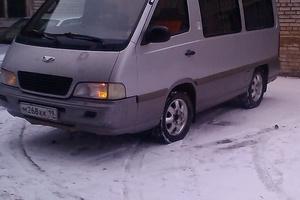 Автомобиль SsangYong Istana, хорошее состояние, 2000 года выпуска, цена 285 000 руб., Саяногорск