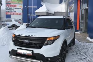 Автомобиль Ford Explorer, отличное состояние, 2014 года выпуска, цена 2 100 000 руб., ао. Ханты-Мансийский Автономный округ - Югра
