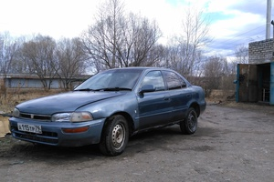 Автомобиль Toyota Sprinter, хорошее состояние, 1993 года выпуска, цена 90 000 руб., Биробиджан