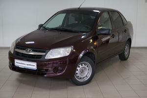 Подержанный автомобиль ВАЗ (Lada) Granta, хорошее состояние, 2013 года выпуска, цена 290 000 руб., Челябинск