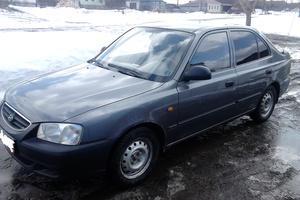 Автомобиль Hyundai Accent, среднее состояние, 2008 года выпуска, цена 205 000 руб., Кыштым