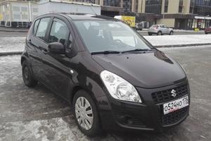 Автомобиль Suzuki Splash, отличное состояние, 2013 года выпуска, цена 545 000 руб., Санкт-Петербург