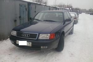 Подержанный автомобиль Audi 100, хорошее состояние, 1993 года выпуска, цена 250 000 руб., Санкт-Петербург