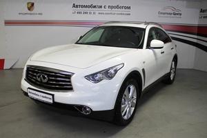 Авто Infiniti QX70, 2013 года выпуска, цена 2 150 000 руб., Москва