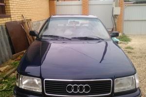Подержанный автомобиль Audi 100, среднее состояние, 1992 года выпуска, цена 120 000 руб., Калуга