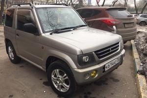Автомобиль Mitsubishi Pajero Mini, хорошее состояние, 2002 года выпуска, цена 185 000 руб., Москва